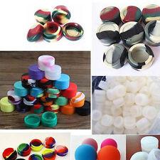 10Pcs Food-grade Silicone Non-stick Round Mouth  Wax Oil Color Random