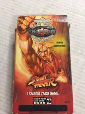 Street Fighter Starter Deck For Epic Battles Trading Card Game CCG TCG