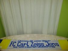 "FC Carl Zeiss Jena Original Fan Schal ""2.BUNDESLIGA SAISON 1996/97"""