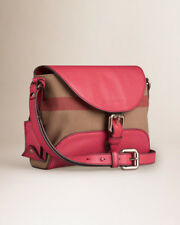 Burberry Small Canvas and Leather Pink bag ( cross body purse ) Check Henham