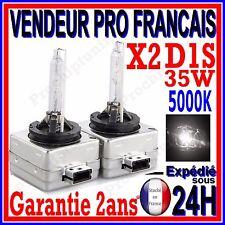 2 AMPOULES D1S AU XENON 35W KIT HID 12V LAMPE RECHANGE D ORIGINE FEU PHARE 5000K