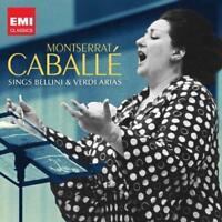 Montserrat Caballe - Montserrat Caballé Sings Bellini And Verdi Arias (NEW CD)