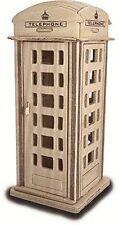 SCATOLA di telefono: Woodcraft banchina Costruzione in Legno Modello 3D KIT P313 età 7 Plus