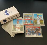 2019 Topps Heritage Milwaukee Brewer SUPER MASTER SET: (37 cards); Inserts, SPs!