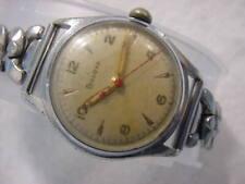 Vintage large antique MILITARY / Art Deco BULOVA mens watch
