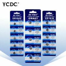 CR927 CR1025 CR1216 CR1220 CR1225 CR1616 CR1620 Button/Coin Cell Batteries Cells