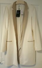 HELMUT LANG, Long COAT from HARVEY NICHOLS,  Colour: WHITE / Size: M