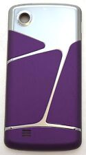 GENUINE LG Chocolate Touch VX8575 BATTERY COVER Door PURPLE/SILVER phone AX8575