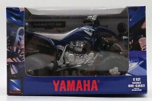 New Ray Toys 1:12 ATV Die Cast Yamaha YFZ450 2011 Blue 42837 New Toy