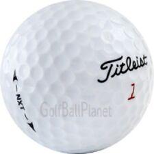 100 AAA+ Titleist NXT Used Golf Balls + Free Tees