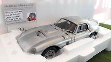 COBRA DAYTONA Coupé 1964 Aluminium mat 1/18 EXOTO 18008 voiture miniature
