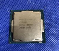 AS IS- Intel Core i7-7700K 4.5 GHz 4 Cores Desktop Processor- NOT WORKING