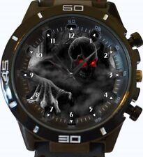 Reloj Deportivo grave Digger esqueleto embrujada haluwin Nuevo Unisex Regalo GT Series