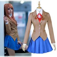 Women Men Cafe Maid Uniform Dress Cosplay Costume Japanese Anime S-5XL