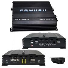 PXA18001 Crunch Mono Amp 1800 Watt 2 Ohm Stable With Bass Remote