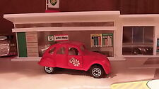 CORGI CITROEN 2CV6 - RED - APPROX.1:64 DIECAST