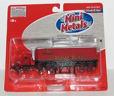 Classic Metal / Mini Metal A & P Tea Tractor & Trailer~~ New Old Stock~~HO Scale