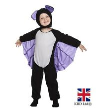 Baby TODDLER BAT JUMPSUIT COSTUME Childs Kids Halloween Fancy Dress Party Outfit