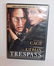 Trespass (DVD, 2011) Movie Starring Nicholas Cage & Nicole Kidman