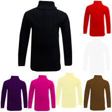 Polo Neck Long Sleeve T-Shirts & Tops (2-16 Years) for Girls