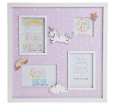 Unicorn Collage Multi Photo Frame