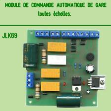 MODULE DE COMMANDE AUTOMATIQUE POUR GARE CACHEE .