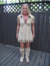 WILD FRONTIER INDIAN ADULT WOMENS HALLOWEEN COSTUME SEXY RISQUE LARGE 12-14