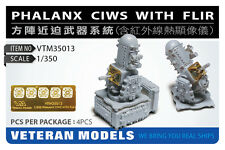 VETERAN 1/350 VTM-35013 PHALANX CIWS WITH FLIR (4 pcs in Box)