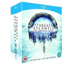 Stargate Atlantis Complete Season 1, 2, 3, 4 & 5 Blu-ray Box Set RB not a DVD