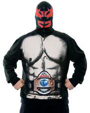 Zipperheadz Mexican Wrestler Costume HOODI LUTTEUR MEXICAIN NW ADUL LRG SZ 46-48