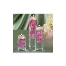 Glass Cylinder Tealight Holder (Set of 3) Ceremony Vase Wedding Centerpiece