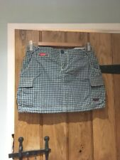 Superdry women's checked mini skirt size small