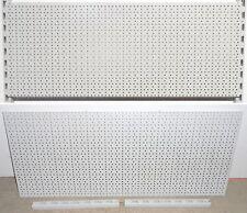 TEGOMETALL LOCHWAND 100x40 cm & 2x WANDSCHIENEN 40 cm SET LOCHWÄNDE WAND REGALE