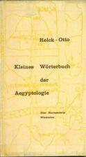 Kleines Wörterbuch der Aegyptologie von Helck und Otto (1970)