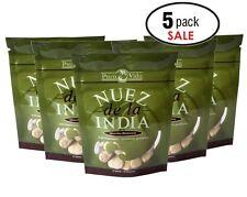 Nuez de la India by Pura Vida (5 Packs of 12 seeds/semillas)