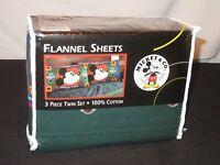 Mickey Mouse Disney Flannel Sheet Set 3 Piece Twin NEW An American Original Y730