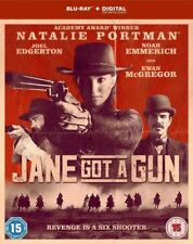 Jane Got A Gun (Blu-ray, 2015) Natalie Portman NEW SEALED Region B