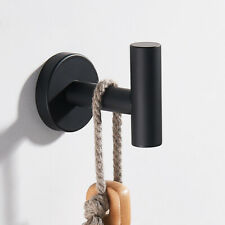 Wall-mounted Coat Hat Hook Hathrobe Towel Hook Hanger in Bathroom Accessories UK