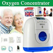 1-6L/Min Portable 90% Oxygen Concentrator Remote Control Generator Health Care