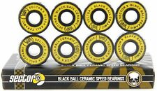 Sector 9 Black Ball Ceramic Speed Bearings for Skateboards and Longboards