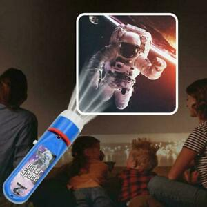 Toys 2-10 Year Old Kids Torch Projector Night Light Gift Xmas For Boys G1E4
