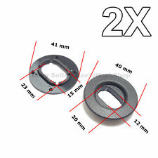2X Floor Mat Fastener, Carpet Mat Retainer for VW, Seat, Skoda