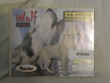 42 Piece Wooden Wolf 3D Puzzle