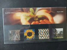 GB Stamps 2000 Presentation Pack Tree And Leaf
