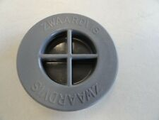 "ZWAARDVIS 2-7/8"" GRAY ROUND FLUSH TABLE PEDESTAL BASE COVER 64016 MARINE BOAT"