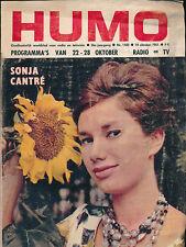 HUMO 1102 (19/10/61) SONJA CANTRE FERNANDEL DUFILHO MARTINE CAROL PRESLE  (3)
