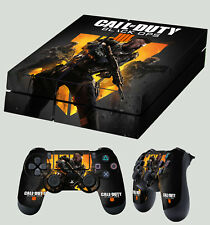 PS4 Skin Call Of Duty Black Ops IIII 4 COD BO4 Sticker + 2 X Pad decal Vinyl LAY