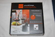 Wine Chill Drops by SKYBAR Fits Standard Wine Glasses and Champaign Flutes