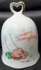 "Ziggy ""Merry Everything"" Bell, Porcelain, 1978, Excellent!"