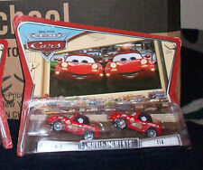 DISNEY PIXAR THE WORLD OF CARS MOVIE MOMENTS MIA & TIA 2 PACKS McQUEEN FANS
